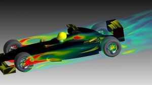 car_race1  Ansys Training car race 300x168